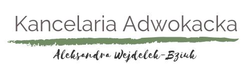 Kancelaria Adwokacka Aleksandra Wejdelek-Bziuk